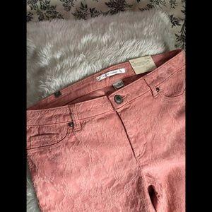 LC Lauren Conrad Peach Jeans